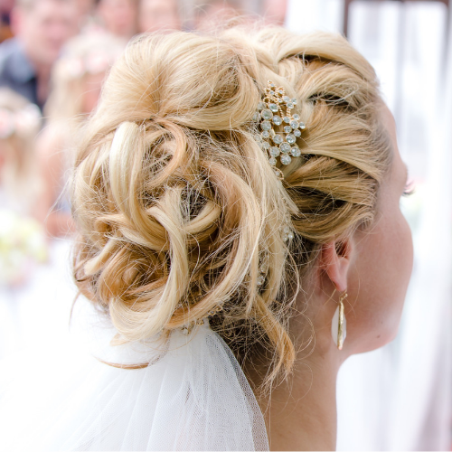 Bruidskapsels Corina's Haarmode