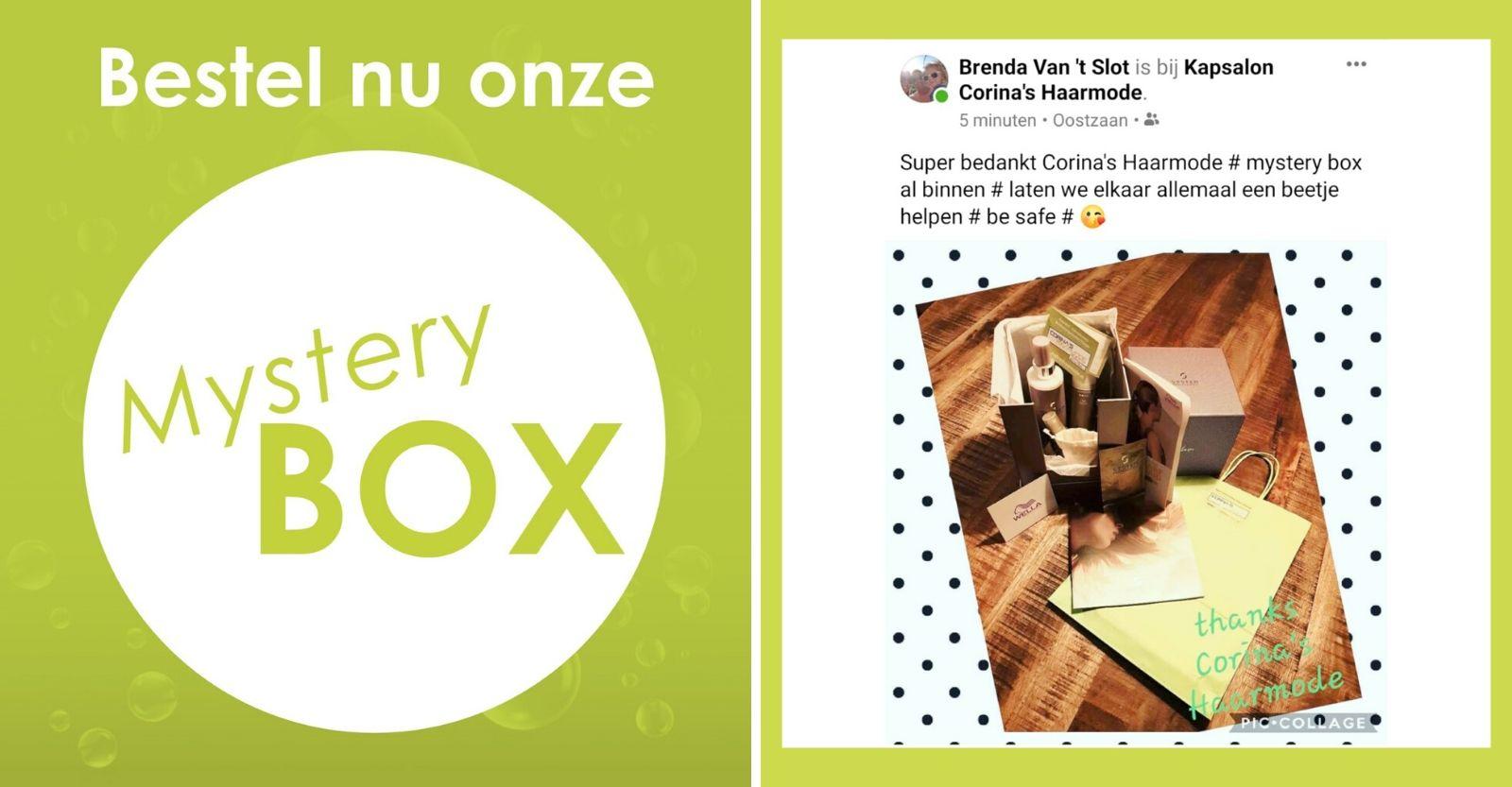 Corinas Haarmode Mystery box